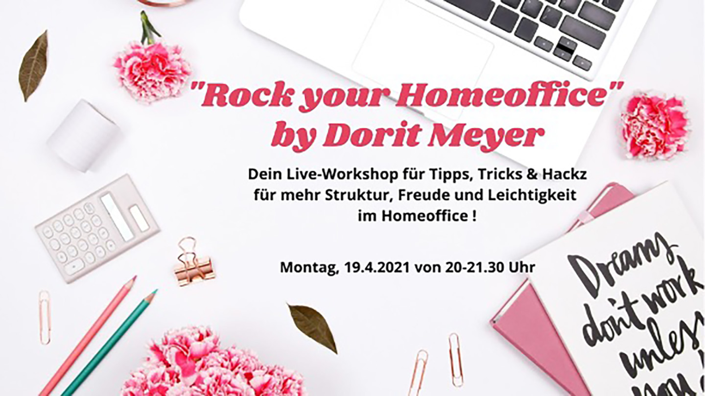 Bild: Dorit Mayer - Rock Your Homeoffice